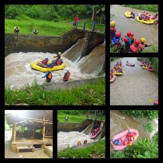 Arung Jeram Rafting Kalibaru Bogor